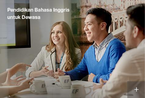 Kursus bahasa Inggris untuk dewasa di Indonesia
